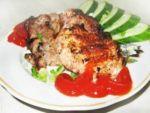 Шашлык, маринованный в кефире – простой рецепт из свинины