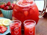 Как сделать клубничный лимонад от Алёнки