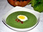 Суп-пюре из шпината рецепт от Ирины