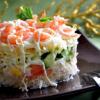 Легкий салат с креветками — рецепт, как у всех, а фото исключительные
