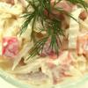 Салат с кальмарами — фото-рецепт