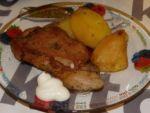 Свинина в рукаве с картошкой приготовлена Татьяной