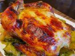 Запеченная курица с кабачками от Елены