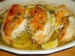 Рецепт куриных грудок в  лимонном соусе  от Алёнки