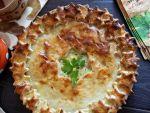 Пирог с картошкой от Алёнки