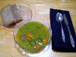 Рецепт горохового супа с копченостями от Алёнки