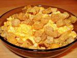 Рецепт простого и быстрого салата от Алёнки