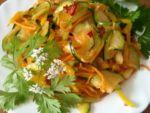 Готовим салат из кабачков по-корейски по рецепту бабушки Тани
