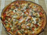 Пицца с морепродуктами как шедевр кулинарного искусства