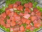 Салат с семгой рецепт от Елены