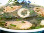 Мисо-суп: рецепт из морепродуктов