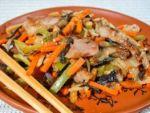 Рецепты китайской кухни: свинина с овощами