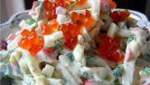 Салат из кальмаров рецепт