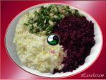 САЛАТ Инь-Ян-Хрень из капусты и «хрени»
