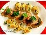 Оригинальные блюда для пикника «Закусь в ассортименте»