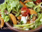 Вкусный салат «Рыженький и конопатый»