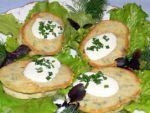 Картофельные оладьи или деруны с сюрпризом от Ольги