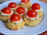 Тарталетки с помидорами и пастой из феты от Татьяны