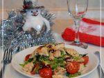Салат с куриным мясом и стручковой фасолью от Татьяны