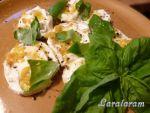 Маринованная моцарелла со сметаной, лимоном и травами