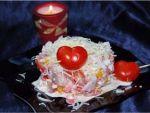 Салат «Разбитое сердце» от Miss