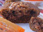Кекс с хурмой и грецкими орехами «Услада»