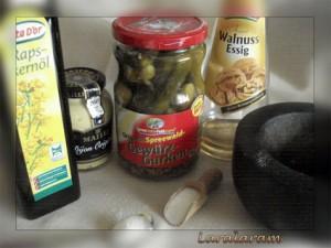 """Картофельный салат по-""""НЕМЕЦКИ"""" как образ жизни. Продукты для заправки"""
