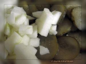 """Картофельный салат по-""""НЕМЕЦКИ"""" как образ жизни. Нарезанные продукты"""