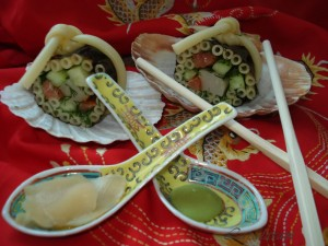 МАКАронистые суши