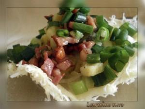 """Картофельный салат по-""""НЕМЕЦКИ"""" как образ жизни. Салат в сырной корзинке"""