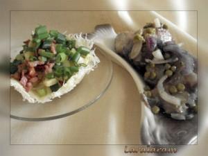 """Картофельный салат по-""""НЕМЕЦКИ"""" как образ жизни. Салат и сельдь"""