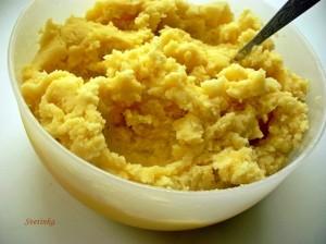 сделать картофельное пюре
