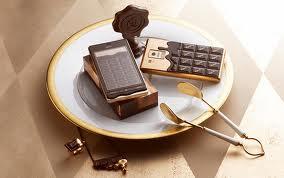 шоколадный смартфон