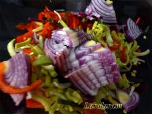 """Салат """"Куча мала"""". Нарезанные овощи"""