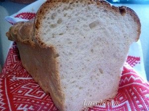 """ХЛЕБ-тост с двумя заквасками... и """"плясками"""" - от печки на диван! Готовый хлеб"""
