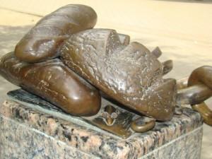 Памятник хлебу