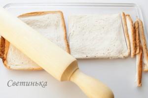 раскатать хлеб скалкой