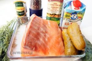 продукты для рыбного паштета