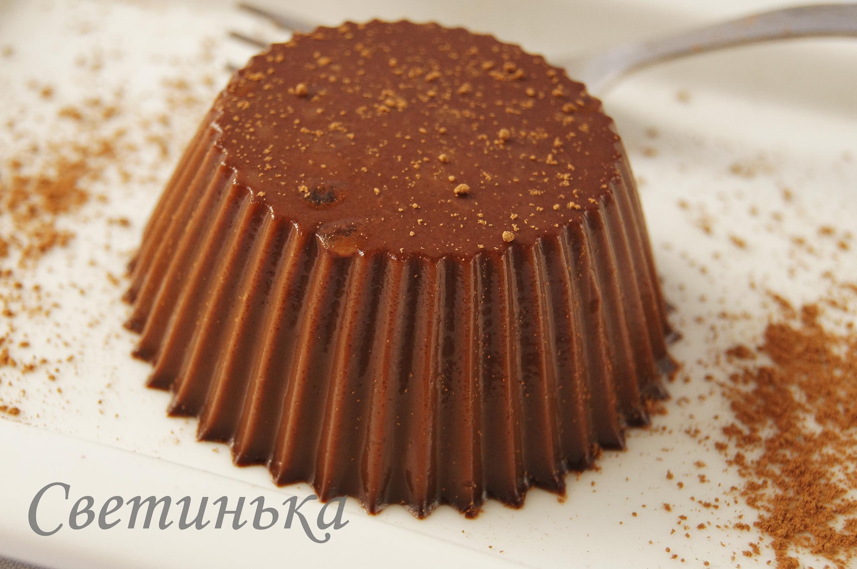 Как сделать шоколадное желе фото 676