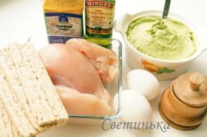 продукты для приготовления котлет по-киевски