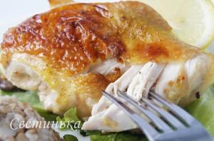 приготовление курицы в карамели