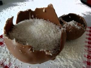 """Шоколадный подмороженный десерт """"Роковые яйца"""""""