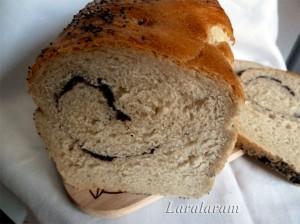 """ХЛЕБ домашний """"Друг мой ситный!"""" - с маком. Нарезанный хлеб"""