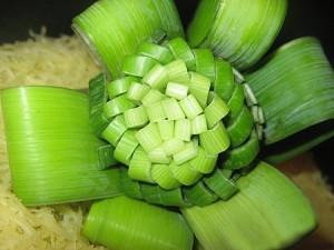 Украшения для овощных салатов