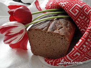 """Ржаной хлебушек на МОЕЙ сыворотке-""""прунье""""! Готовый хлеб"""