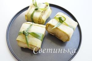 запечь сыр в кабачках в духовке