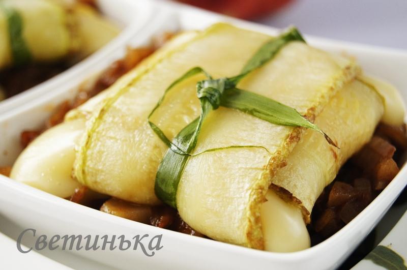Кабачки, сыр и конфитюр «Бомбовое трио!»