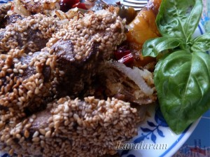 Печень жареная - для Али-Бабы. Готовая печень