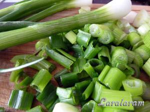 """Салат... """"Травка зеленеет, солнышко..."""" Зелёный лук"""