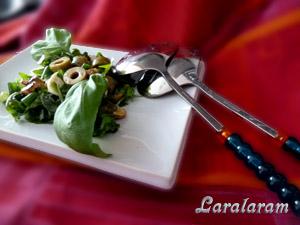 "Салат... ""Травка зеленеет, солнышко..."" Готовый салат"